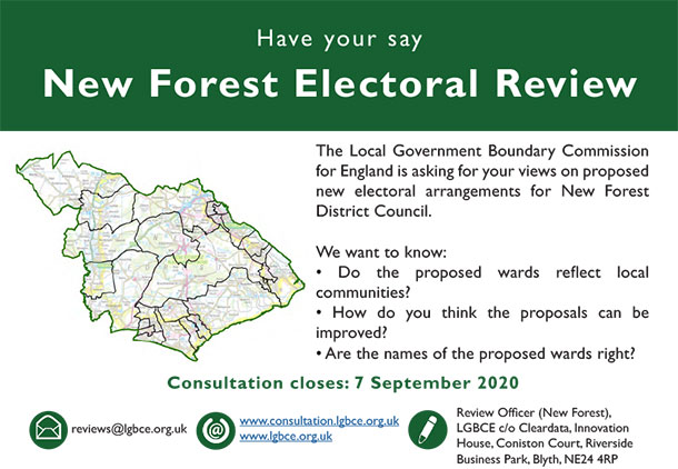 New Forest Electoral Review Consultation