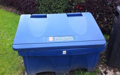 Hampshire Highways Salt Bins